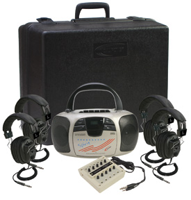 Four Person Spirit Learning Center by Califone