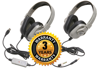 Titanium Headphones include the highest level of ambient noise reduction