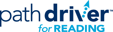 Path Driver for Reading logo