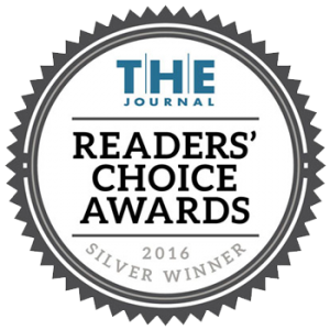 Califone has been awarded the Readers Choice Award by THE Journal of Education